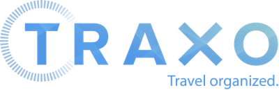 Traxo: Travel Organized Logotype